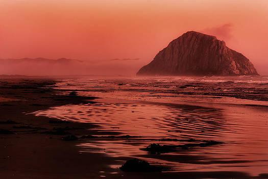 Morro Sunset by Matt  Trimble
