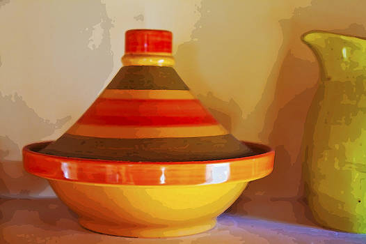 Kantilal Patel - Morrocan Tagine and pitcher