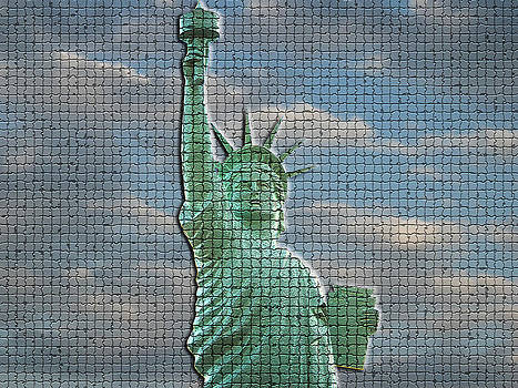 Mosaic Liberty by Sarah McKoy