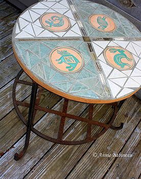 Anne Babineau - mosaic table