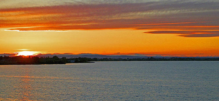 Moses Lake Sunset by Seth Shotwell