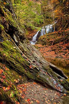 Moss Glen Falls Stowe Vermont 5991 by Ken Brodeur