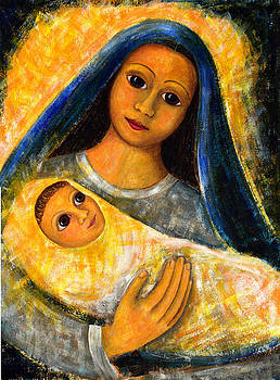 Mother Mary and Jesus by Taruna Rettinger