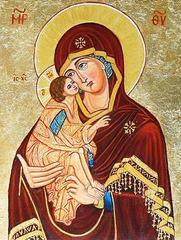 Ion vincent DAnu - Mother of God aft Teophane the Greek