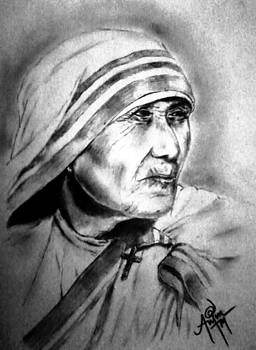 Mother Theresa by Arjun P Haridasan