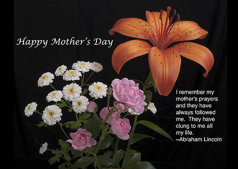 Michael Peychich - Mothers day card Day Lily and Rose