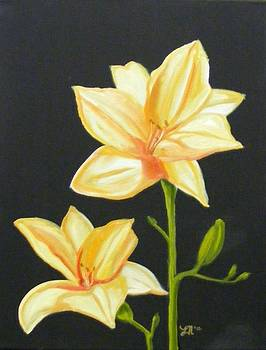 Mother's Lilies by Laura Evans