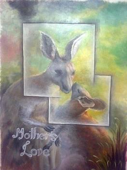 Mother's love by Jitender Singh