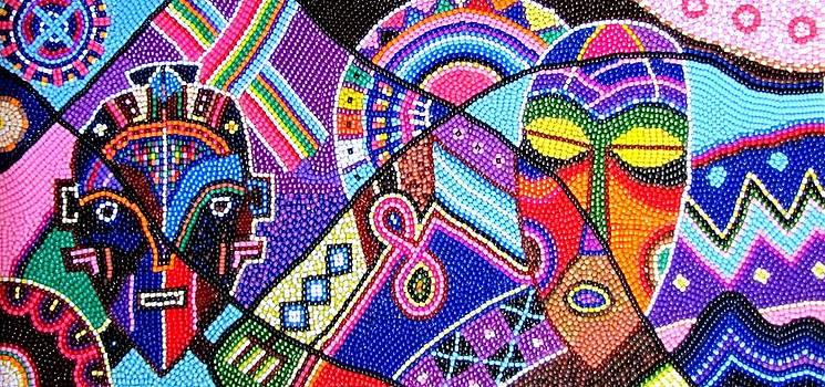 Motifs Africana by Harold Egbune