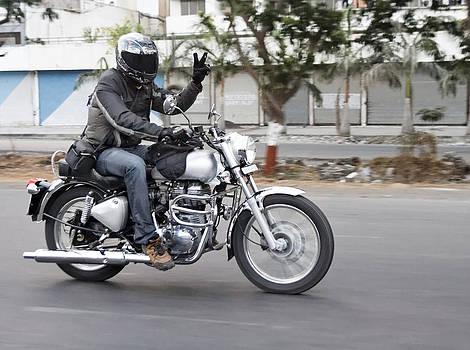 Kantilal Patel - Motorbiker Peace