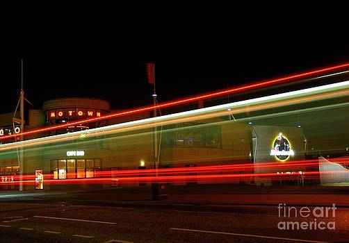 Motown Cafe at Night by John Kelly