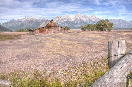 Moulton Barn on Mormon Row Late Summer 2012 B by Katie LaSalle-Lowery