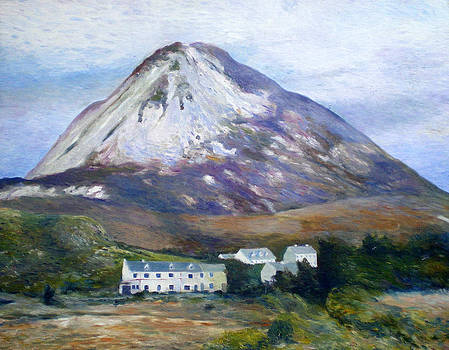 Mount Errigal Co. Donegal Ireland 1997 by Enver Larney