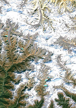 Planet Observer and Photo Researchers - Mount Everest