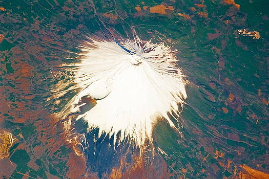 Padre Art - Mount Fuji from Space
