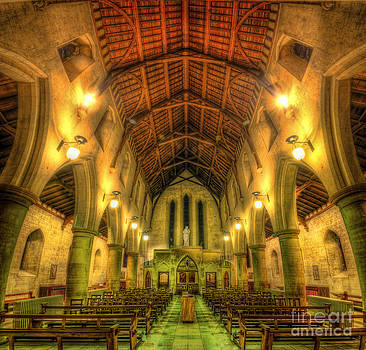Yhun Suarez - Mount St Bernard Abbey - The Nave