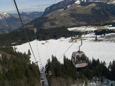 Mount Titlis cable car by Bhupendra Jambhulkar