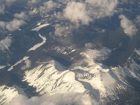 Alfred Ng - mountain from the air