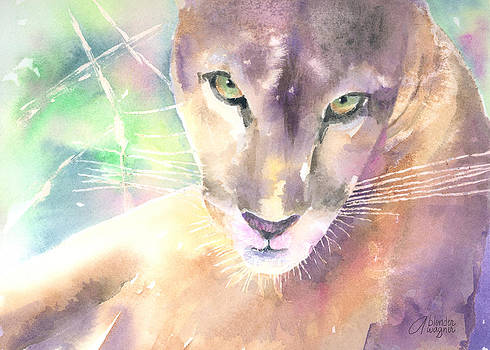 Mountain Lion by Arline Wagner