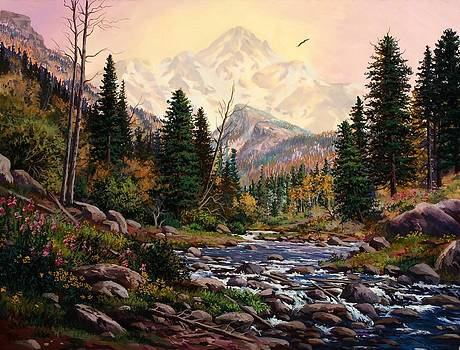 Mountain Majesty by W  Scott Fenton