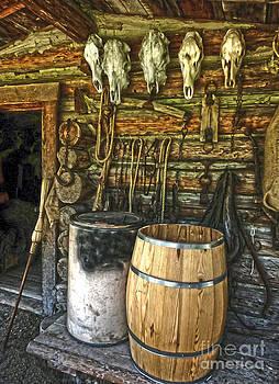 Gregory Dyer - Mountain Man cabin