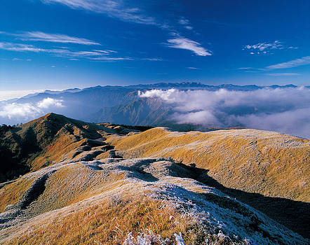 Mountain Scene In Winter,taiwan,asia by Photo by LCT