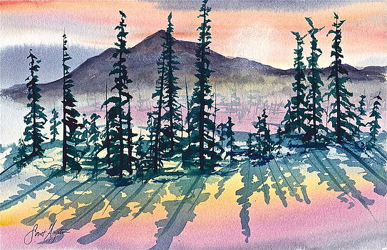 Frank SantAgata - Mountain Sunrise