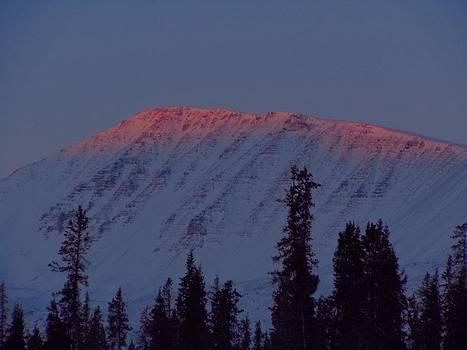 Mountain Top Sunrise by Amy Bradley