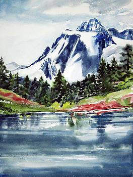 Mountain View by LaReine McIlrath
