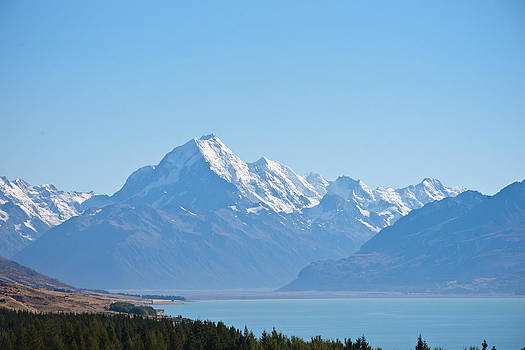 Mountain with Lake by Graeme Knox