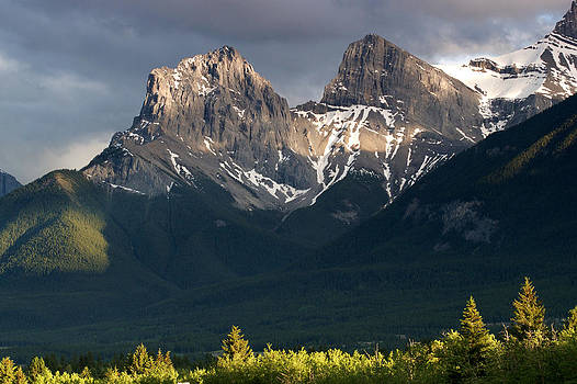 Mountains Before Sunset by David Frankel