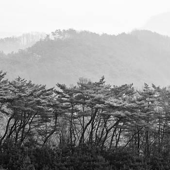 Mountains of South Korea by Eduard Kraft