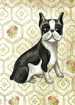 Mr. Iggy the Boston Terrier by Nancy Mitchell