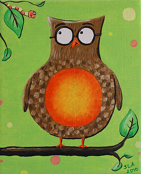 Mr.Owl by Jennifer Alvarez