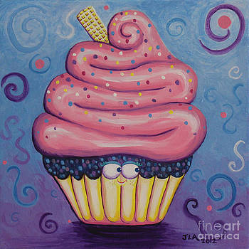 Ms. Pink Cupcake by Jennifer Alvarez