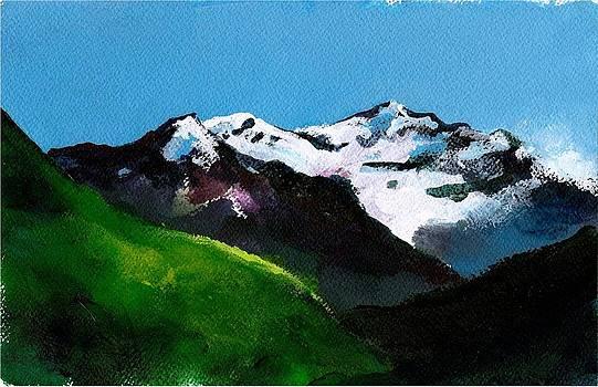Mt Aspiring by Rob M Harper
