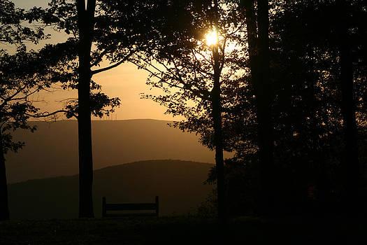 Mt Pisqah Sunset by Frank Morales Jr