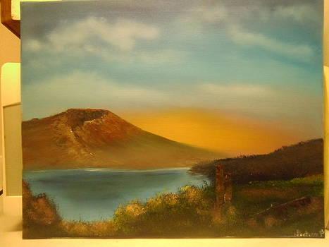 Mt St Helens Spirit Lake WA by Thomas Hostvedt