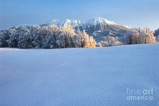 Mt. Stol in the winter by Tomaz Kunst