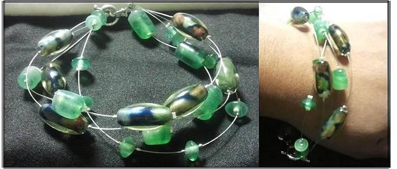 Multi Strand Bracelet by Tashamee Dorsey