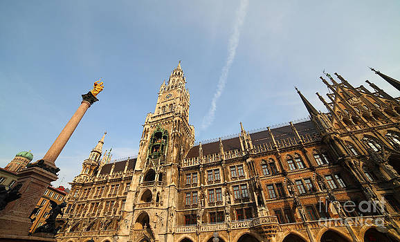 Munich City Hall by Holger Ostwald