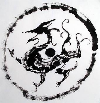 Mural Dragon by Jinhyeok Lee