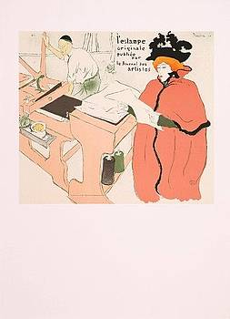 Musee Sandelin by Henri Toulouse-Lautrec