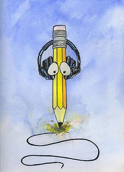 Musical Pencil  by Mark  Millett