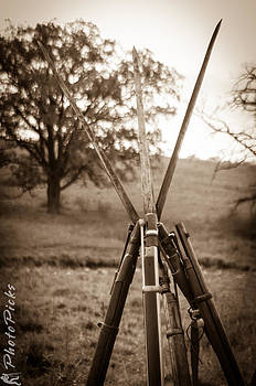 Muskets at the Ready II by Tom Pickering of Photopicks Photography and Art
