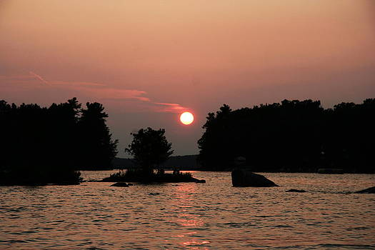 Muskoka Sunset by Carolyn Reinhart