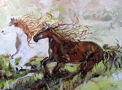 Mustang Freedom by Barbara Pearston