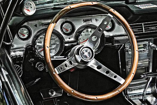 Mustang Interior by Donald Tusa