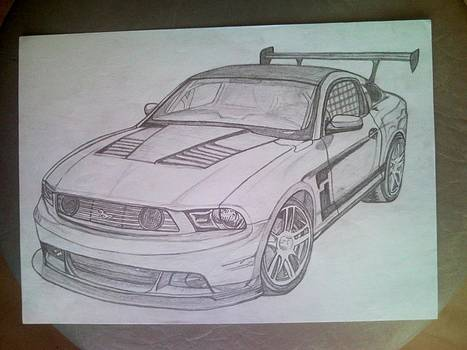 Mustang by Lucia Vratiakova