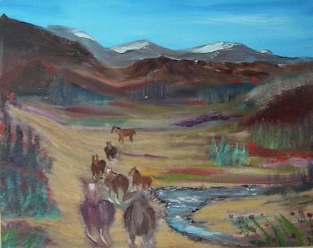 Mustangs by Tony  DeMerchant